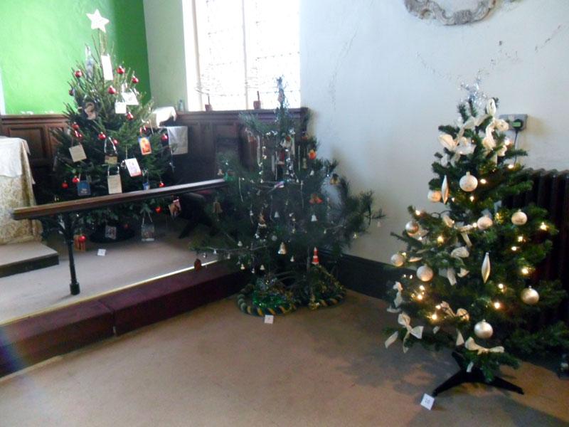 Christmas Tree Festival Raises Money For The Childrens