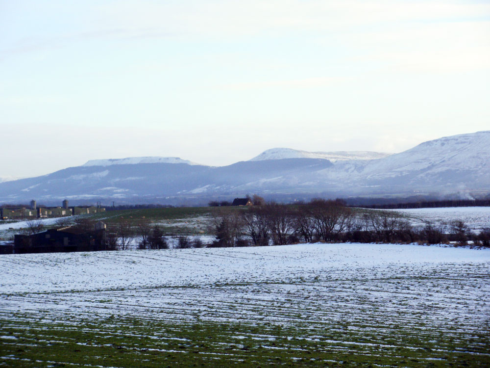View of the hills from Seamer