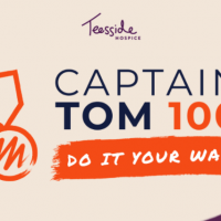 Join Teesside Hospice for the Captain Tom 100 Challenge
