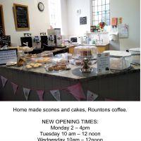 WELCOME BACK TO THE HUB (in the Methodist Chapel, Hutton Rudby)