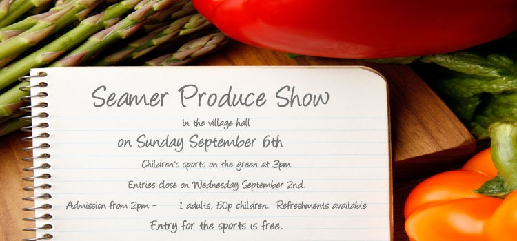 SEAMER PRODUCE SHOW & CHILDREN'S SPORTS